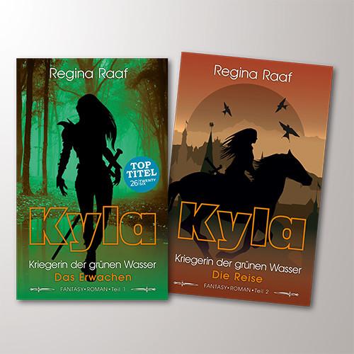 Buchumschläge KYLA – Kriegerin der grünen Wasser