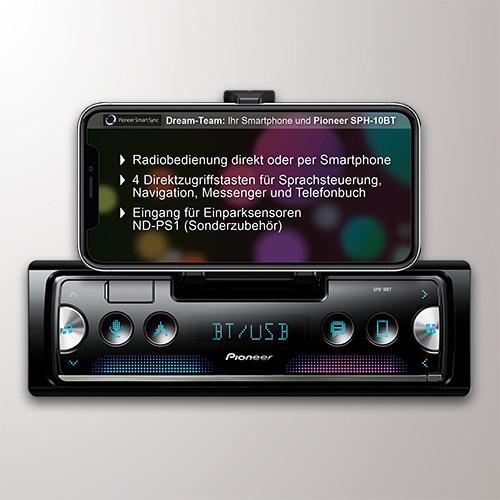 Beitragsbild Pioneer Smartphone-Dummy