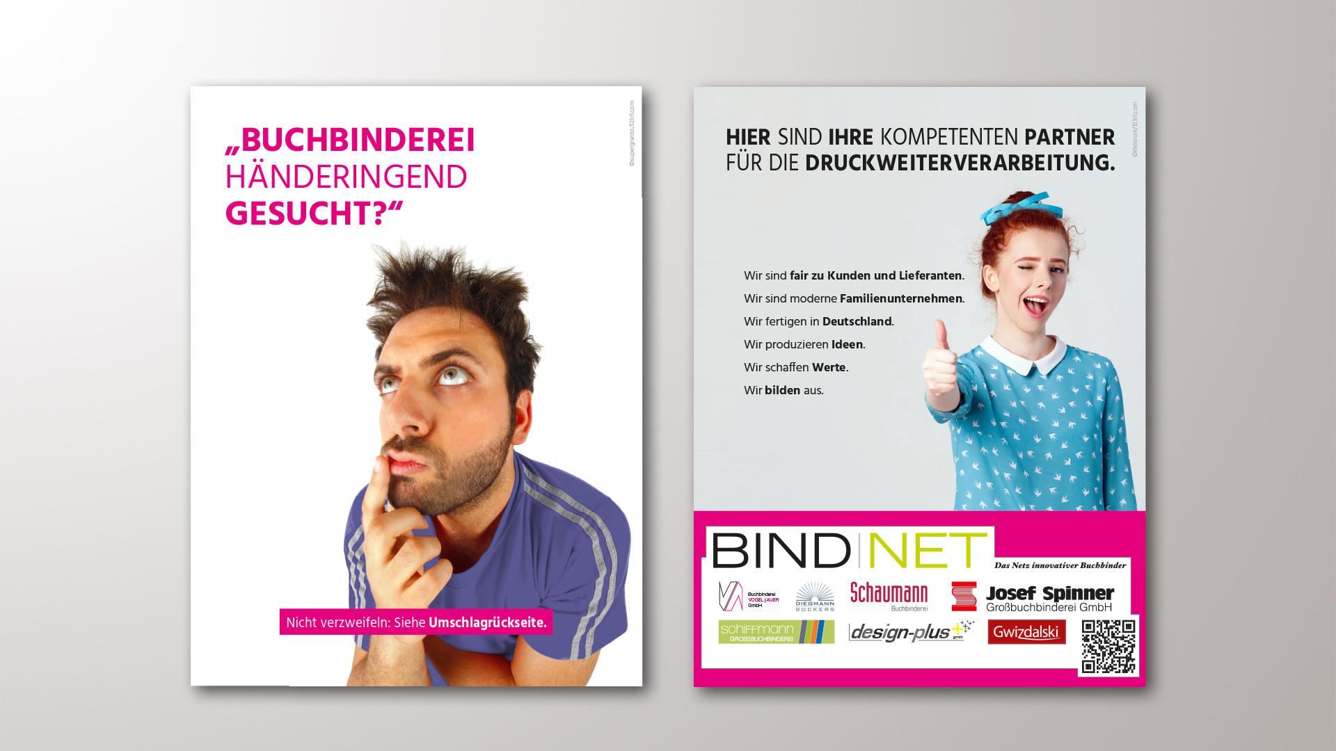 BindNet-Umschlaganzeigen