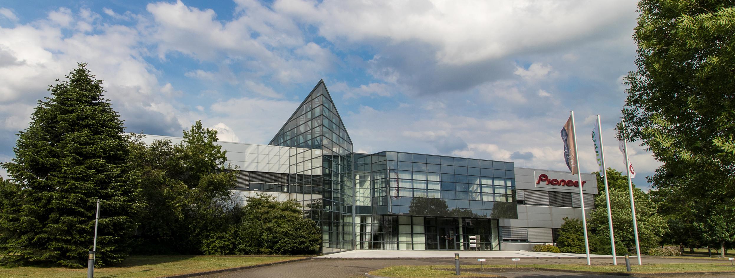 Firmensitz Pioneer Electronics Deutschland